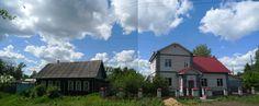 Composite of neighboring homes in Vyksa Russia