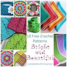 Monday Link Blast: 10 Bright and Beautiful Free Crochet Patterns