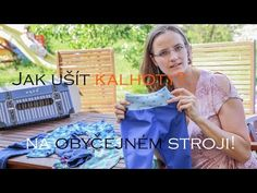 Caramilla Easy: Jak ušít kalhoty/tepláky na obyčejném stroji? Softshellové i jiné. - YouTube Picnic Blanket, Outdoor Blanket, Textiles, Beach Mat, Diy Projects, Knitting, Youtube, Sewing, Kids