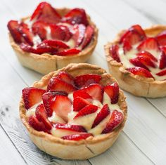 #strawberry #tartlets
