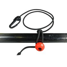 Paddle Tether: This quick attachment system will quickly snap to any sized paddle shaft or any number of other items you want to keep from floating away. #kayak