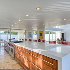Countertop Ideas - simply marvelous; cleanliness is next to holiness!