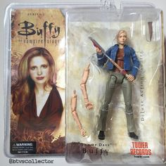 """Diamond Select - Buffy the Vampire Slayer Deluxe Figure - Series 1 - Tower Records Exclusive - """"End of Days"""" Buffy. #btvscollector #buffy #btvs #buffythevampireslayer"""