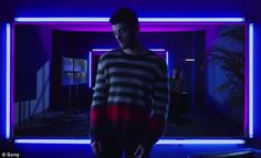 Artistic: Zayn Malik dropped something rather different on Tuesday as his Cruel music video with Snakehips featured a very electro vibe