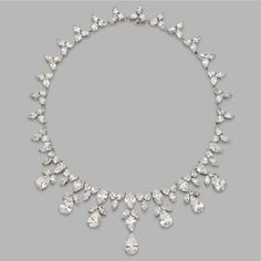 Can you imagine having diamonds as your raw material for design projects? Harry Winston designs are too beautiful!