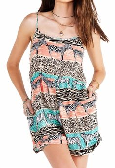 I cannot imagine a summer without a huge selection of rompers.  Easy and cool.  MinkPink | Pretty Little Liars