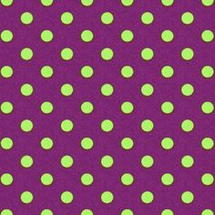 Cotton Colour Dots 7 - Katoen - violet