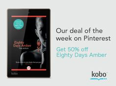 """PINTEREST DEAL OF THE WEEK: 50% OFF using promo code: """"Pin50off1"""" - Eighty Days Amber by Vina Jackson - Get it here now: www.kobobooks.com...  Another scorching entry in Vina Jackson's Eighty Days series delves into the backstory of Luba, the mysterious, blond Russian beauty who danced her way into mischief in the original trilogy"""