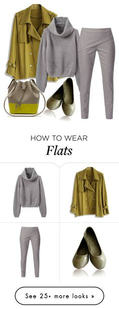 """""""Tapered Waist Trousers"""" by sillycatgrl on Polyvore featuring Chicwish, WtR London and Lacoste"""