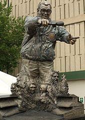 Harry Carey Statue