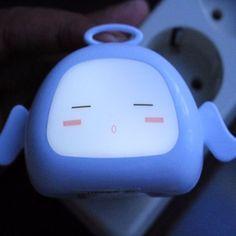 Lampu tidur anak yang hemat listrik dan sangat menarik untuk menemani tidur anak anda Product Details :Bahan: Plastik ABS,  Lampu LEDDaya: 110-220 V Berat: 35 grUkuran: 9 x 5 x 4 cm Ukuran Kotak : 10 x 6 x 5.5 cm Perhitungan pengiriman :  60 gr Warna Lampu: Putih Dilengkapi dengan sensor cahaya.  Hanya akan menyala saat gelap  Untuk Order 👇👇 BBM : 7C834615Whatsapp: 087830969000Fast Respon