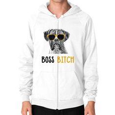 Boxer Zip Hoodie (on man) Shirt