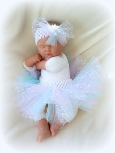 TUTU, CUTE PASTEL COLORS NEWBORN BABY GIRL ... For that small chance I have a baby girl