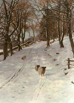 joseph farquharson   Joseph Farquharson prints, hand coloured etchings