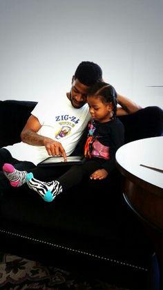 Kid Cudi & Daughter Vada