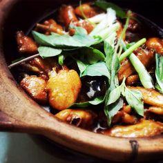 唯靈, Three Cups, Four Flavors, Chicken,  三杯, 四味, 雞, braised, chinese, william mark, recipe