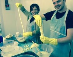 Come Stretch With Us - An Evening Of Nibbling And Cheese Making For 1