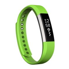 [$1.73] For Fitbit Alta Watch Oblique Texture Silicone Watchband, Large Size, Length: about 22cm(Green)