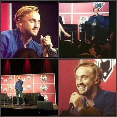 Tom Felton at the Montreal Comic con panel