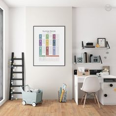 Number Bonds Educational Print Odds Evens Nursery Print | Etsy Playroom Decor, Bedroom Decor, Wall Decor, Kids Bedroom, Bedroom Prints, Nursery Prints, Art Wall Kids, Art For Kids, Flute Fingering Chart