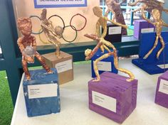 Olympic Sport Sculptures   # Pin++ for Pinterest #