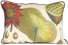 Red Lotus Pillow