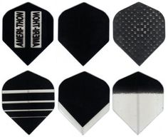 #6000 Black Darts Matching AmeriThon Six Pack Flight Assortment by Amerithon SixPacks. $9.00. Part of the Ameri-Thon family of dart flight products, including the World's Only Fully Digital Custom Dart Flights. Also see our listings for Assortment Packs and Bulk Flight Packs.. Save 25%!