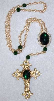 Sapphire & Sage - Renaissance & Medieval Rosaries and Paternoster Collcetion