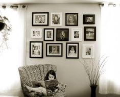 Design Ideas for Amazing Photo and Painting Wall Gallery