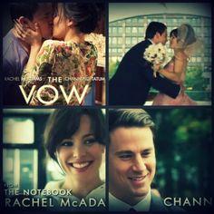The Vow Rachel Mcadams, Channing Tatum, Vows, Leo, Entertaining, Portrait, Movie Posters, Headshot Photography, Film Poster