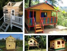 Jardipolys janaka maisonette cabane enfant bois bleu blanc for Cabane au fond du jardin laurent gerra