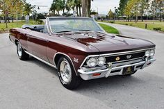 1966 Chevrolet Chevelle SS Convertible 396ci