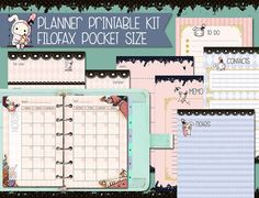 Sentimental Circus Planner Kit - Filofax pocket size