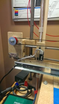 MDF-Strap A3d printer made from mdf