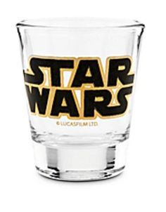 Star Wars Shot Glass Original Logo Lucas Films Disney