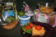 Tuna  Sweet Potato Lunch, quick and easy.