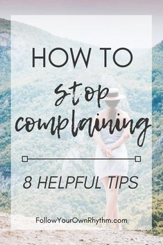 Complaining is when you express your frustrations, dissatisfaction, and annoyance with something without the ability to do something about it or without the willingness to change how you think about it, find a solution, or accept the situation for what it Step Workout, Self Improvement Tips, Self Development, Personal Development, Growth Mindset, Fixed Mindset, Positive Mindset, Positive Affirmations, Best Self