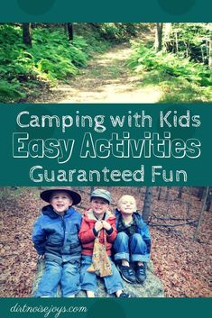 Camping activities/ Camping with kids/ Tent Camping with kids/ Family Camping/ Camp Activities/ Kids Camping Activities Camping Activities For Kids, Camping Games, Camping With Kids, Family Camping, Go Camping, Camping Ideas, Camping Foods, Family Travel, Camping Lunches
