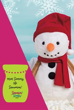 In the meadow, we can build a … We couldn't be more excited to announce the arrival of our latest Scentsy Buddy Sammy the Snowman.  Stay up to date with all of the latest Scentsy Buddy Releases by joining our VIP Group at http://smarterscents.net/vip