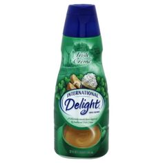 International Delight Irish Creme. It's a bad morning when I realize I'm out.