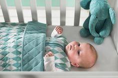 Jollein slaapzak *Diamond check* - BellyBloz - Baby artikelen & accessoires