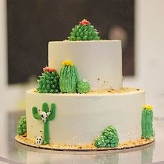 23 Ideas for cupcakes decorados cactus Cute Cakes, Pretty Cakes, Beautiful Cakes, Amazing Cakes, Cake Cookies, Cupcake Cakes, Cactus Cake, Cactus Cupcakes, Mexican Party