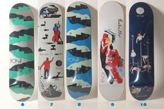 polar skateboard deck - Google Search