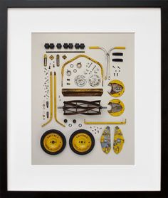 Old Push Lawn Mower, by Todd McLellan | 20x200