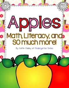 Apples: Math, Literacy, and More