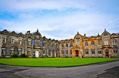 St. Salvador's Quad - St. Andrews, Scotland (My first theology class was through that door in the corner)