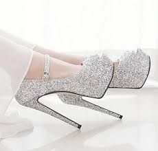 a beautiful shiny shoes for party