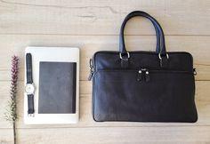 Mens messenger bag, leather messenger bag, laptop briefcase, leather briefcase, mens leather briefcase, laptop messenger bag, men briefcase