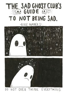 The Sad Ghost Club is making great comics and helping people with mental health at the same time.