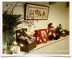 petites coses bones: Decoración navideña. Christmas decor.
